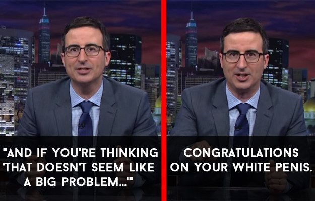 When he highlighted why we should treat online threats against people seriously. | 18 Times John Oliver Nailed It