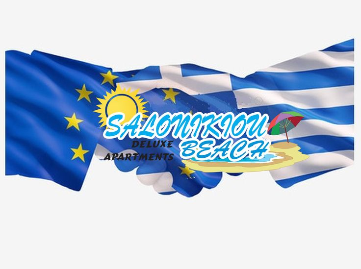 #referendum #Greece #SalonikiouBeach #logos