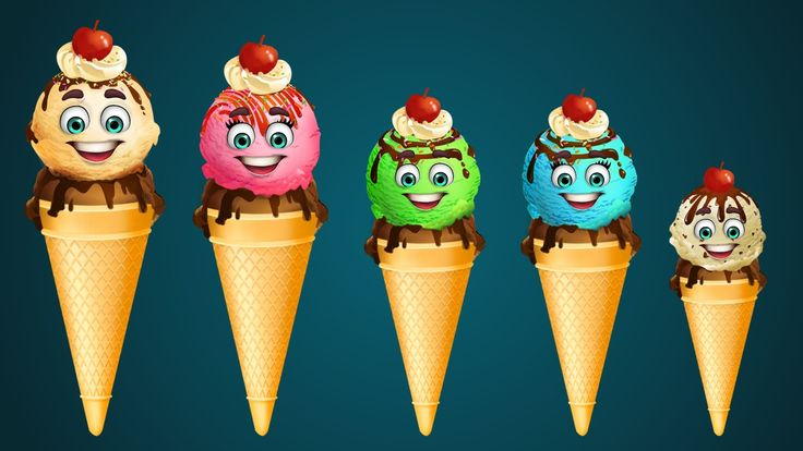 Finger Family Collection | 5 Ice Cream Finger Family Songs | Daddy Finge...