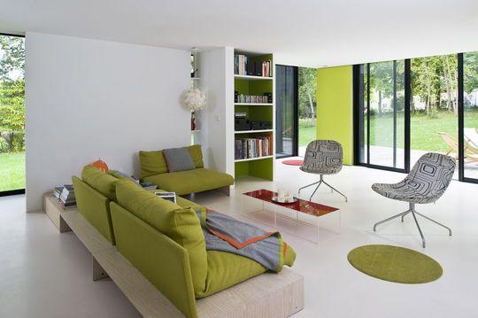 18 best salon images on Pinterest Ikea hackers, Furniture and Home - cuisine verte et blanche