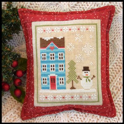 snow place like home part one is the first design in a five part series titled snow place from country cottage needleworks this cross stitch pattern is