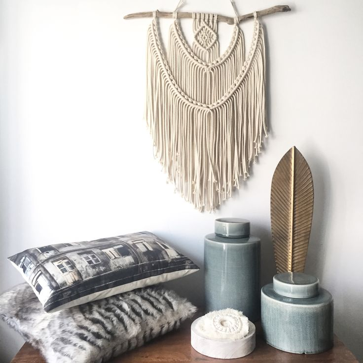 Macrame wallhanging. Original designed by TEX MB. See more: www.texmb.com