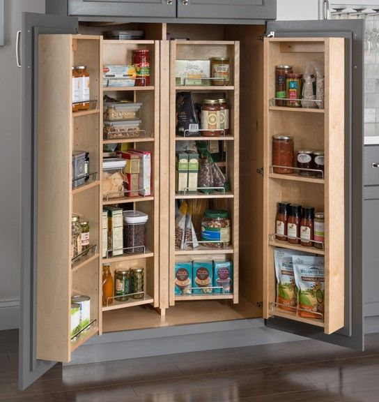 Cabinet organizers are creative and easy ways to give your kitchen some more space! Read how to install one today! #VanDykes #HardwareResources #CabinetOrganizers #Organizers #Cabinet #Kitchen #Storage #KitchenStorage