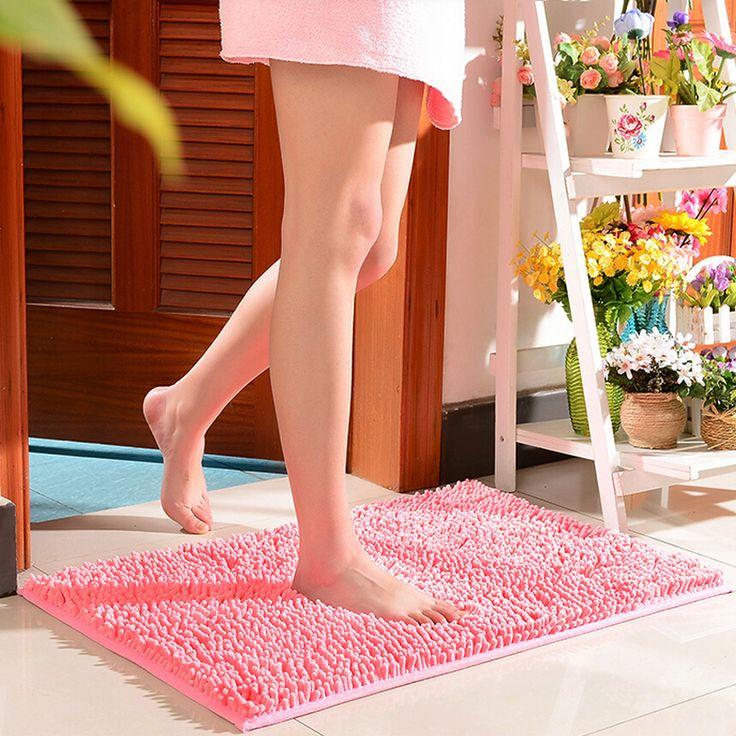 Comfortable Non Slip Bath Mat,Candy Colours Carpet Kitchen,Floor Mat for Home Living Room Bedroom,Rug Bathroom,Kids Doormat Soft