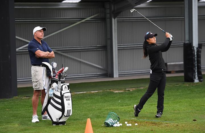 Tiger... Adam Scott... and now Steve Williams adds Danielle Kang to his resume of major champions. NZ Women's Open LPGA