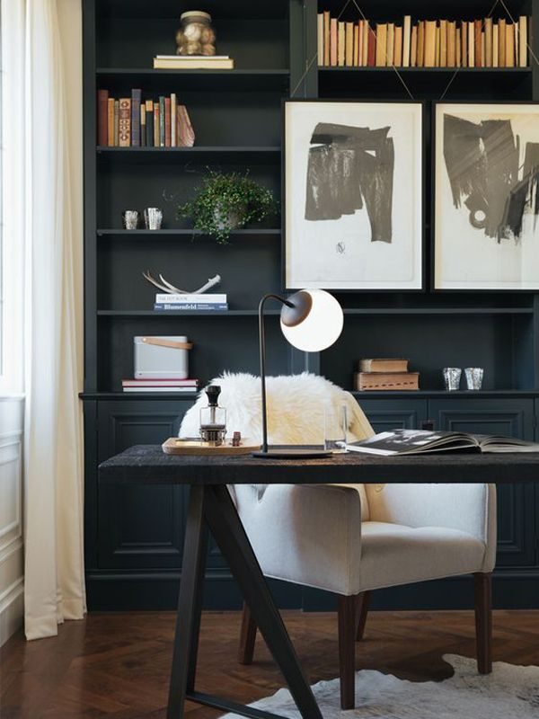 40 Cool And Masculine Home Office Ideas For Men In 2020