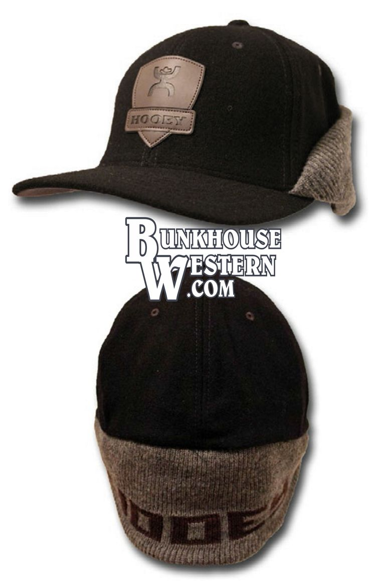 #GetYourHOOey, Ear Flop Cap, Beanie, Winter Hat, Cold Weather Apparel, Out Cold, Hooey Hat, Rodeo, Cowboy, Tie Down Calf Roping, $49.98, http://bunkhousewestern.com/HOC