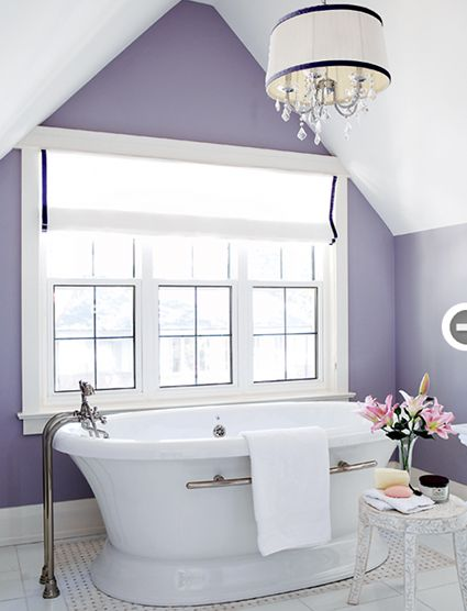 Enchanted Purple Benjamin Moore For The Home Pinterest