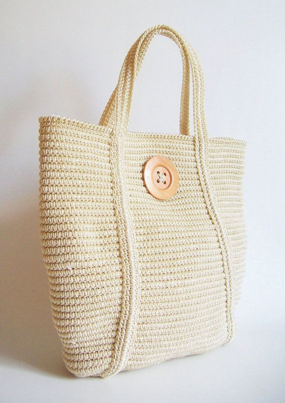 Crochet pattern for basic tote tapestry crochet. Row by di ChabeGS  <3