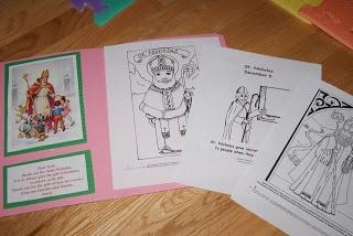 Resources for St. Nicholas Lapbook -- December 6