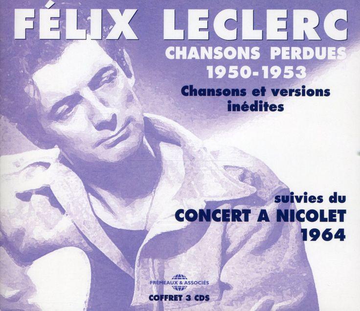 Felix Leclerc - Chansons Perdues 1950-1953, Pink