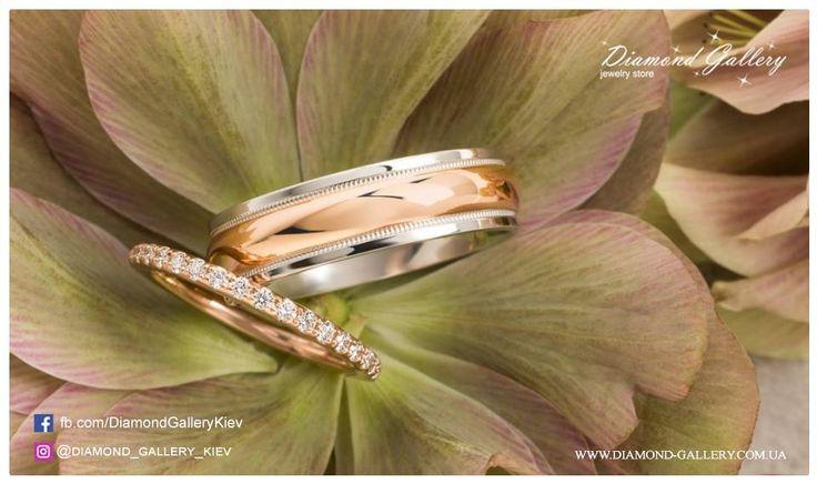 Обручальные кольца Diamond gallery – свидетельство вечной любви❤️   тел.(044) 227-43-31 💕 Активная ссылка на ассортимент: http://diamond-gallery.com.ua/40-obruchalnye-koltsa/?utm_source=facebook&utm_medium=cpm