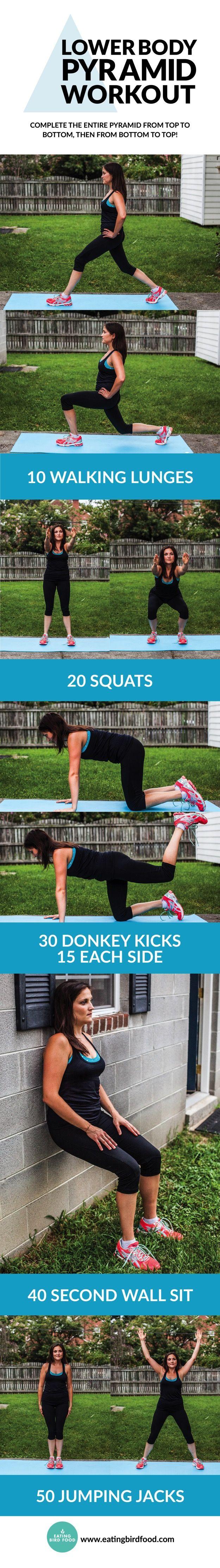 Best 25+ Pyramid workout ideas on Pinterest   Belly ...
