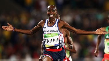 "e Olympic gold medal winner said: ""On 1st January this year, Her Majesty The Queen made me a Knight of the Realm. On 27th January, President Donald Trump seems to have made me an alien.""Four-time Olympic gold medallist Mo Farah of Great Britain may not be able to compete in the United States."