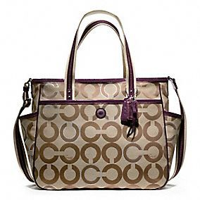 Designer Baby Bags, Diaper Bags, Mommy Bags, Baby Totes from Coach