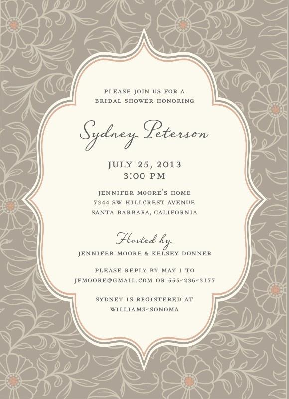 vintage bridal shower invitation d e s i g n pinterest vintage bridal shower invitations and bridal showers