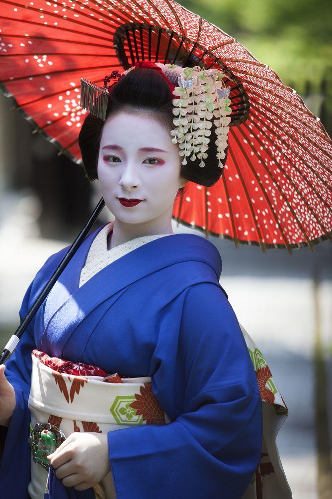 Maiko, Fukunae. Kyoto. Japan. 宮川町、舞妓 ふく苗さん