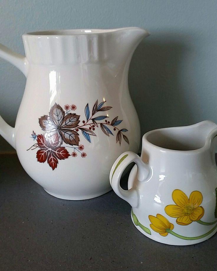 Porselen / porcelain / norwegian design / Figgjoflint / figgjo /Stavangerflint / retrostyle
