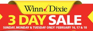Winn Dixie Weekly Ad Coupon Match Up (2/12-2/18)