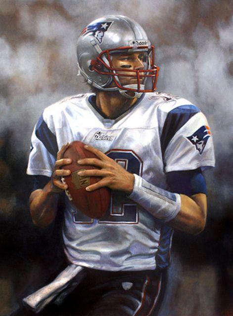 Tom Brady by Brian Fox