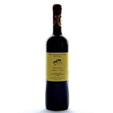 ELTYNA Merlot Red Organic Wine Sinadinakis Wines