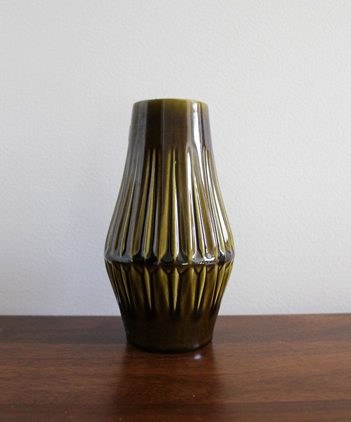 W. German Midcentury Vase by PipAndTheBear on Etsy