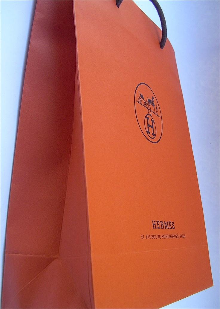 Hermès paper shopping bag