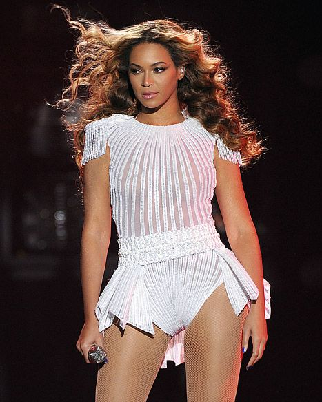 "Beyonce performs on the opening night of her ""Mrs. Carter Show World Tour 2013"", on Monday, April 15, 2013 at the Kombank Arena in Belgrade, Serbia."