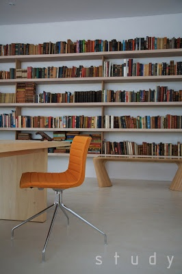 Best DESIGN Bookshelf Library Images On Pinterest Books - Bookchair combined with bookshelf