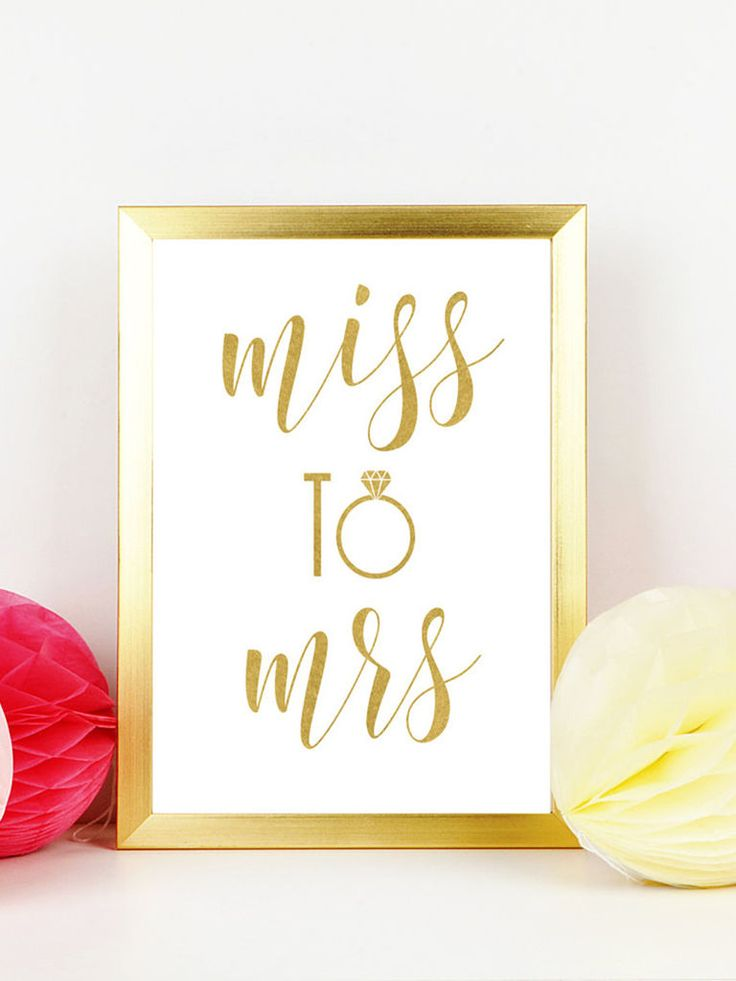 You only bride once! Use cute printable signs to liven up your bachelorette party decor.