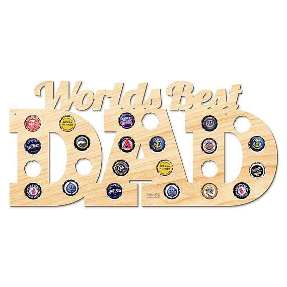 World's Best Dad Beer Cap Map Beer Map Beer Cap Map