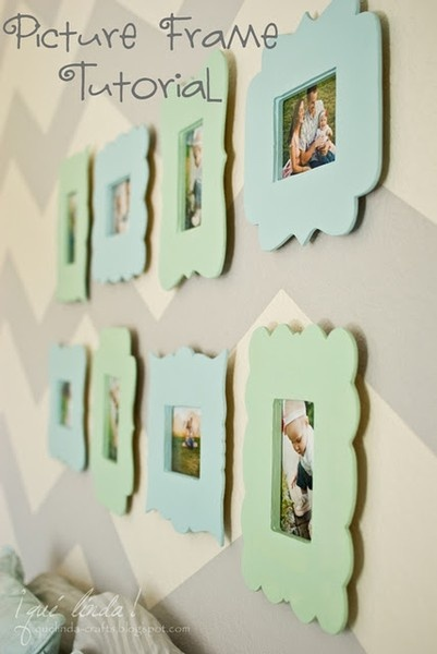 DIY Whimsical Frames