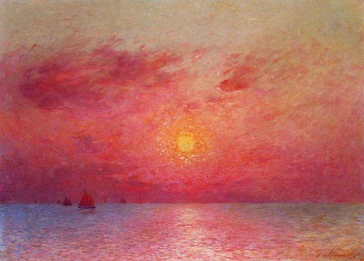 Landscape Paintings by Ferdinand du Puigaudeau French Impressionist Artist