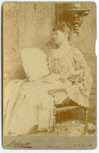 Vintage Rare Irish European Royalty Ireland S Lady Hesketh Cabinet Card