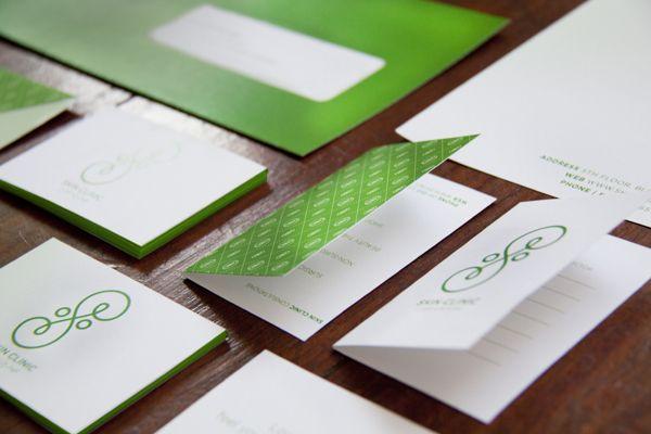 Skin Clinic Brand by Ana Types Type, via Behance