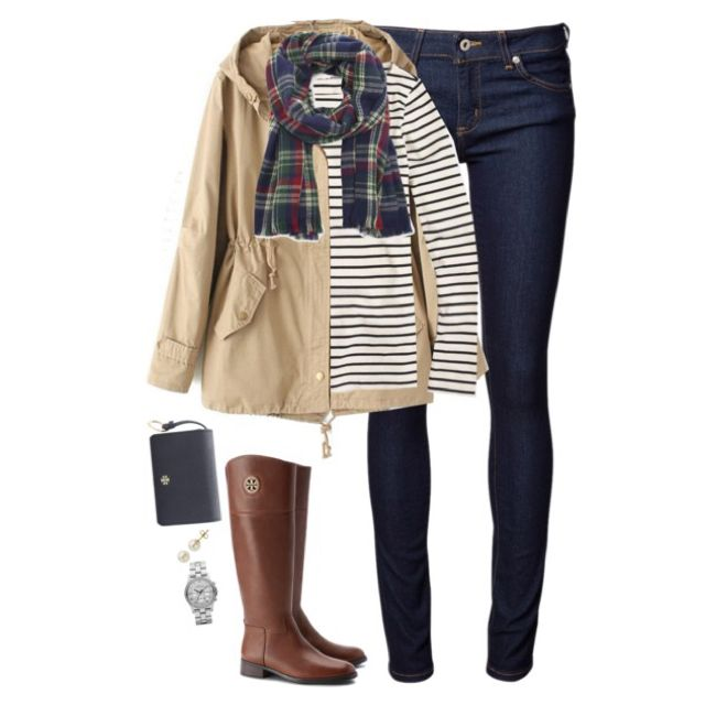 Khaki, stripes & plaid by steffiestaffie