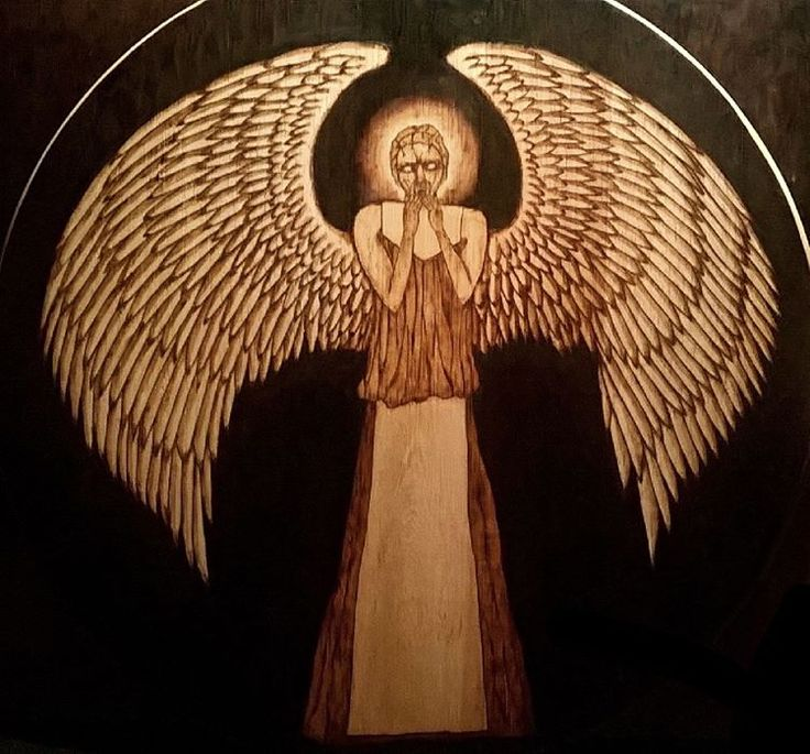 Decided to blacken the background of this one, definitely helps emphasize the creepiness I was going for!  #watsonwoodart  #recycle #yyj #woodworking #yyjarts #drwho #drwhoart #weepingangels #angel #creepy #dontblink #woodburning #pyrography #pyrographyart #Victoriabc #handmade #art #artwork #instaart #viccity