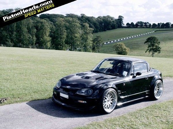 I do luv Kei cars, so what's better than a turbo'd Hayabusa powered Suzuki Cappuccino (via @PistonHeads )