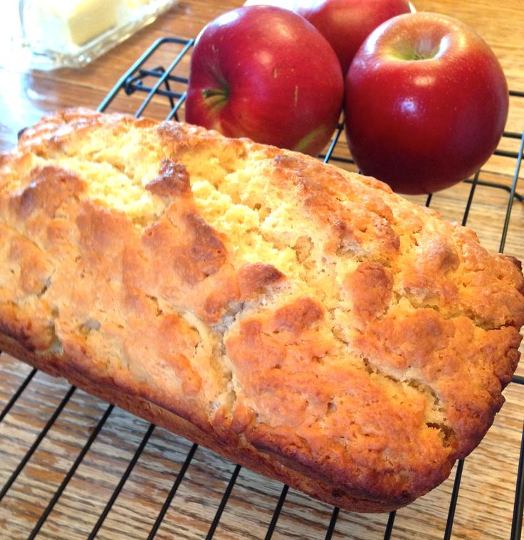 Angry Apple Bread - with Angry Orchard. Super easy #recipe and it's delicious!