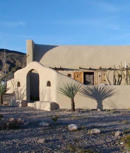 167 best images about desert homes on pinterest for Modern adobe houses