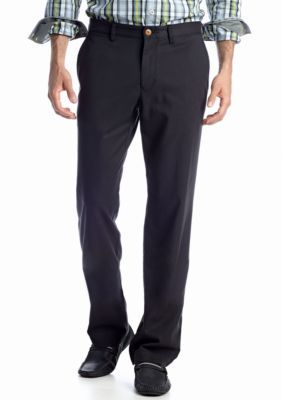 Tommy Bahama Men's Bryant Standard-Fit Flat-Front Pants - Black - 33 X 32