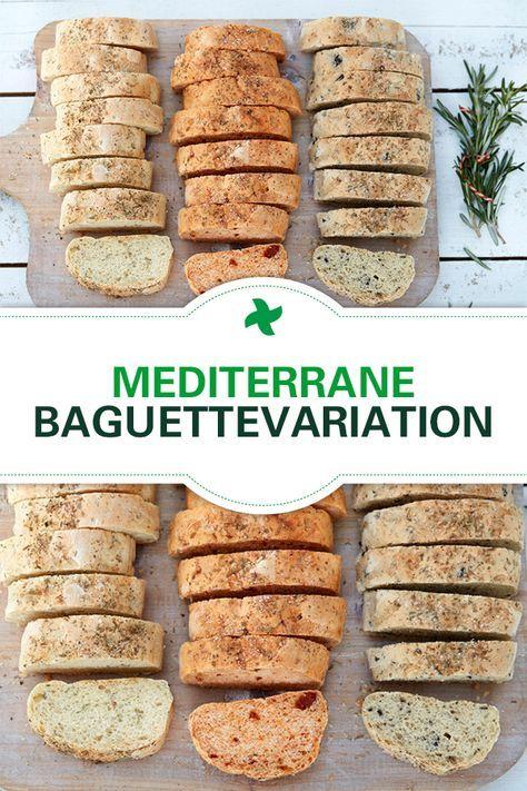 Mediterrane Baguettes aus dem Thermomix auf dem Rezept-Portal Cookidoo!
