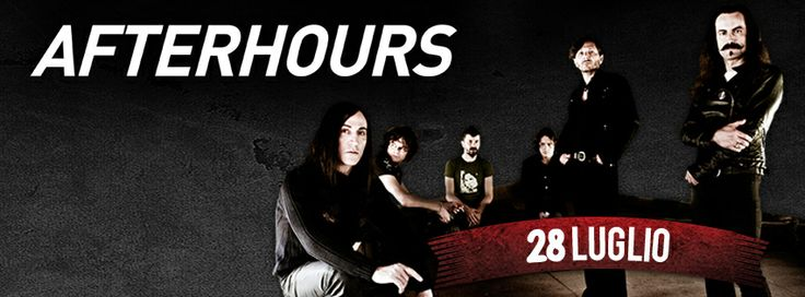 Afterhours 28 luglio 2014 Postepay Rock in Roma