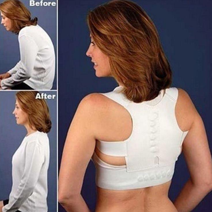 Adjustable Back Therapy Shoulder Magnetic Posture Corrector for Girl Student Child Men Women Adult Braces Magnet Supports