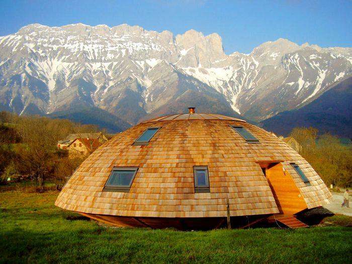 вырезать сразу купольный дом проекты фото купол позволит вам вести