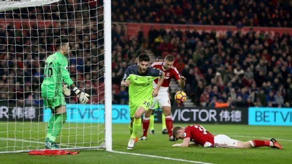 Keputusan Jurgen Klopp menggantikan kiper Loris Karius terbukti benar yang akhirnya Liverpool menang 3-0 atas Middlesbrough di Stadion Riverside.
