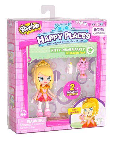 Happy Places Shopkins Single Pack Tiara Sparkles Doll Sho...