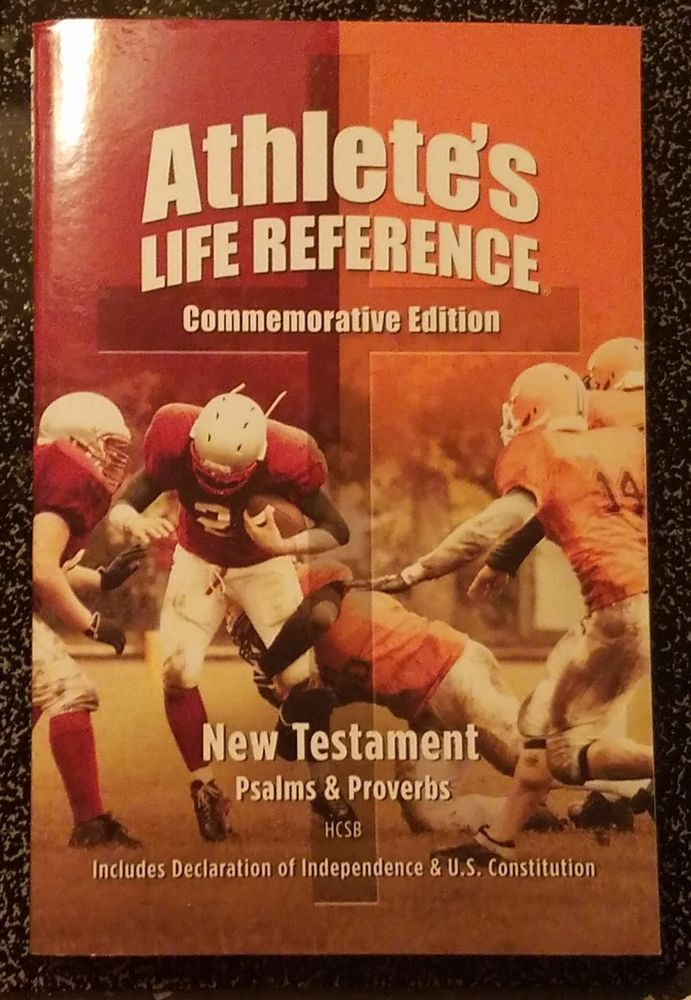 Athlete's Life Reference New Testament from Battle of Bristol Raceway  FS