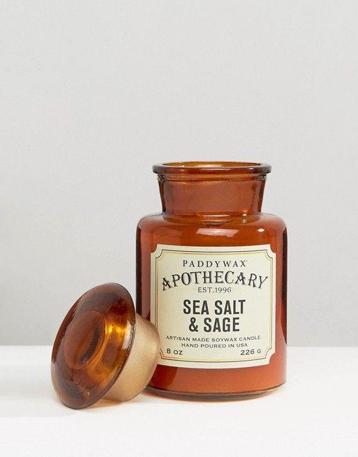 Paddywax | Paddywax – Apothecary – Kerze, 8 g - Meersalz und Salbei