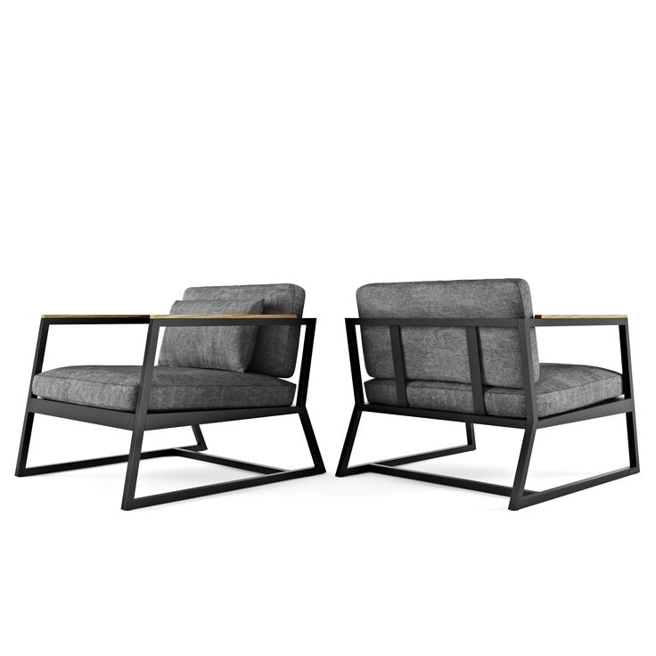 Кресло из дерева и металла Horizon - купить в Киеве